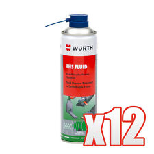 Genuine Wurth HHS Fluid Grease Fluid Resistanct to Centrifugal Force 12 x 500ml