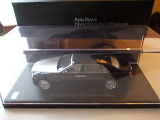 Kyosho 1/43 - rolls royce Ghost Extended wheelbase-Diamond Black