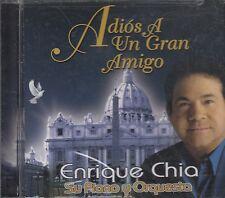 Enrique Chia Su Piano Y Orquesta Adios A Un Gran Amigo CD New Sealed