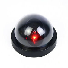 Dummy FAKE Dome Security CCTV Camera Cam Surveillance Parts Flashing LED Light