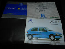 Peugeot 106 1998 : instructieboekje pochette