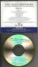 Ronald ISLEY BROTHERS Body Kiss ADVNCE PROMO CD w/ R. KELLY Snoop Dogg LIL KIM