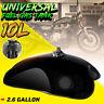 Motorcycle 10L 2.6 Gal Fuel Gas Tank For BMW Suzuki Honda Cafe Racer Universal