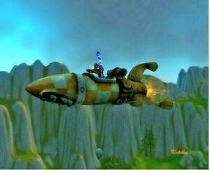 WoW Mount Geosynchroner Weltendreher Reittier World of Warcraft