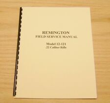 Remington  Model 12-121  Field Service Manual - #10