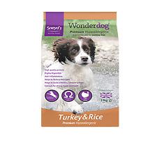 Premium Turkey & Rice Sneyds Wonderdog 15Kg *FREE P&P*