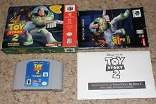 Toy Story 2 (Nintendo 64 n64) Complete in Box w/ Unopened Ticket GREAT