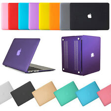 "Macbook Hard Case for Mac book Air Pro 11 13 15"" New 12"" Laptop Rubberized Cover"