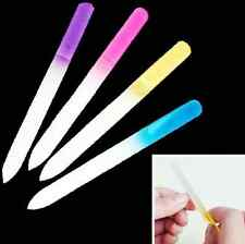Pro Diy File Manicure Device Tool Durable Crystal Glass Nail Art Buffer Files