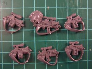 6 Space Marine Sternguard Veteran Bolt Guns (bits auction)
