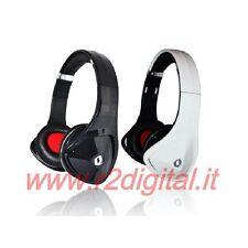 CUFFIE Q PROFESSIONALI per DJ HI-FI PC GAME MP4 MP3 IPOD IPHONE STEREO JACK 3,5m