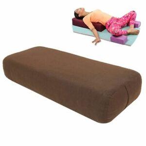 Yoga Pillow High-density TPE Foam Lining Block Exercise Fitness Gym Slimming Mat