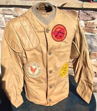 VTG Shooting Jacket 10X Imperial Reeves Army Twill Sanforized Hunting Size 42