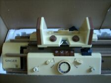 SINGER Doppelbett-Strickmaschine -- NEUWERTIG - TOP