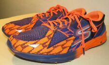 Skechers Mens Shoes GOmeb Speed 4 Orange/Blue 54101 Running Size 10,5 M US