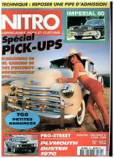 NITRO n°162 FORD FAIRLANE'55/IMPERIAL LE BARON SEDAN'60/CAD'42 PICK-UP+ poster