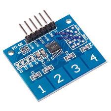 TTP224 Sensore Touch 4-canali Capacitivo Pulsanti Arduino Modulo Sensore Tattile