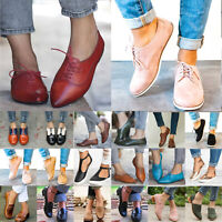 Damen Brogues Schuhe Sommer Party Halbschuhe Freizeitschuhe Turnschuhe Sneakers