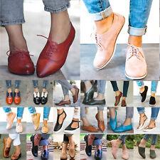 Damen Brogues Schuhe Sommerschuhe Halbschuhe Freizeitschuhe Turnschuhe Sneakers