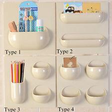 Magic Wall Storage Rack Organizer Holder Shower Shelf Kitchen Bathroom Basket