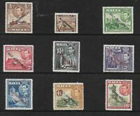 MALTA-1938-43 Set to 10/- SG 234-248 Self Government UNMOUNTED MINT Set of 21