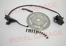 """FRONT DISC BRAKE KIT ASSEMBLY WITH DISC WHEEL 19"""" FOR ROYAL  BIKES BSA 39"""