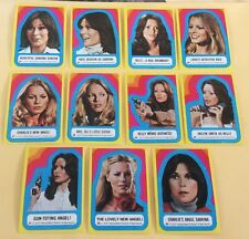 1977 Topps Charlie's Angels 3rd Series Trading Card Sticker Set NM-MT
