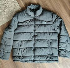 North Face puffer jacket size XXL grey
