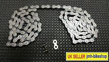 5/6/7 15 18 21 SPEED shimano hg40 compatible chain with free snap link