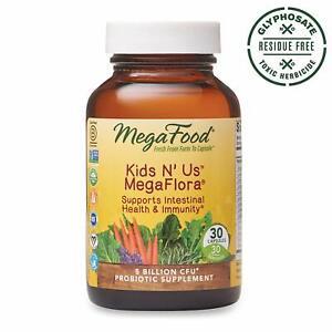 MegaFood, Kids N' Us MegaFlora, Probiotic Supplement for Children with 5