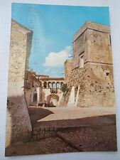 CARTOLINA - SAN NICANDRO GARGANICO (FG) - Castello, Torre Orientale e Piazzetta