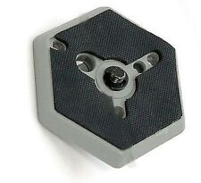 "Kenro Hexagonal Quick Release Plate 1/4"" Screw F/ Manfrotto 3049 030-14 RC0 3063"