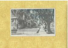 CA Santa Anna 1908-29 vintage postcard HOMES ON FRENCH STREET CALIFORNIA
