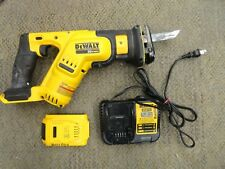 DEWALT DCS387 20V MAX Lithium Ion Compact Reciprocating Saw -1 Battery+Charger