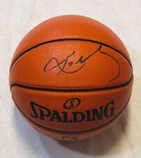 Kobe Bryant Signed Los Angeles Lakers Spalding NBA Basketball COA