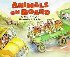 Animals on Board: Adding (Mathstart: Level 2 (HarperCollins Library))-ExLibrary