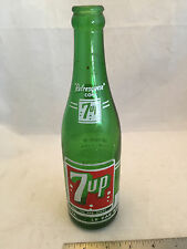 1960 7Up Seven Up Bottle from Mexico Spanish 12oz .355 Liter Refresquese