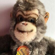 Vintage Antique Steiff Gorilla Gora Dralon 1961 - 1963