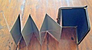 SMALL FRAMED PHOTO CASE - BUDD LEAHTER BURGUNDY