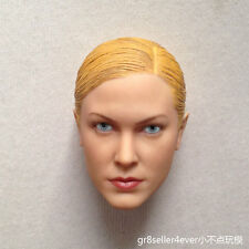 Custom 1/6 Head Sculpt Terminator T-X Kristanna Loken fit hot toys kumik body