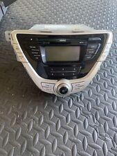 11-13 Hyundai Elantra AM FM Radio CD Player Sat Ready w Bluetooth And Dash Kit
