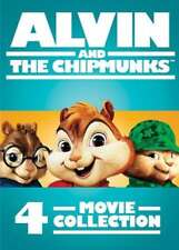 ALVIN AND THE CHIPMUNKS: 4-MOVIE COLLECTION NEW DVD