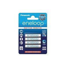 4x Akku AAA max. 800 mAh Batterie aufladbar Panasonic Eneloop Micro Accu