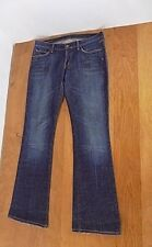 Citizens of Humanity Women Distressed Jeans Boot Cut Size 29/32 Kelly #001