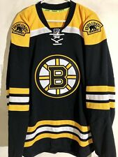 Reebok Authentic NHL Jersey Boston Bruins Team Black sz 56