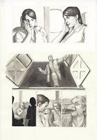 Adi Granov, IRON MAN Extremis, Original Art Page, Mallen, Warren Ellis, Marvel