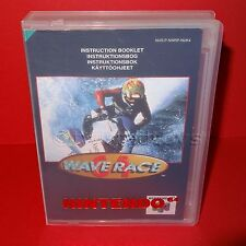 VINTAGE 1996 NINTENDO 64 N64 WAVE RACE 64 CARTUCCIA VIDEOGIOCO PAL + Custodia