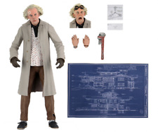 BACK to the FUTURE: ULTIMATE DOC BROWN 7″ Action Figure 18 cm NECA