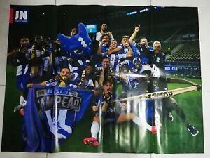Premium Acrylic Knit Porto Soccer Fan Scarf