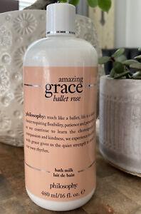 Philosophy Amazing Grace - BALLET ROSE - Bath Milk Body Wash ~Sealed 16 oz